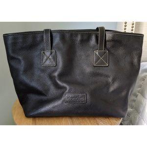 Dooney & Bourke Black Leather Tote Bag